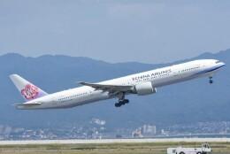 M.Tさんが、関西国際空港で撮影したチャイナエアライン 777-36N/ERの航空フォト(飛行機 写真・画像)