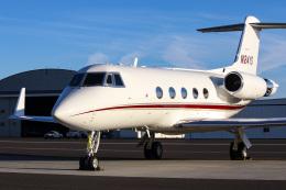 ズイ₍₍ง˘ω˘ว⁾⁾ズイさんが、トリシティズ空港で撮影したアメリカ個人所有 G-IV-X Gulfstream G450の航空フォト(飛行機 写真・画像)
