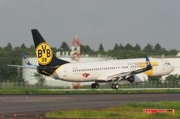 木人さんが、成田国際空港で撮影したMIATモンゴル航空 737-8CXの航空フォト(飛行機 写真・画像)