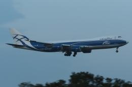 木人さんが、成田国際空港で撮影したエアブリッジ・カーゴ・エアラインズ 747-8HVFの航空フォト(飛行機 写真・画像)