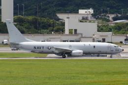 よっしぃさんが、嘉手納飛行場で撮影したアメリカ海軍 P-8A (737-8FV)の航空フォト(飛行機 写真・画像)