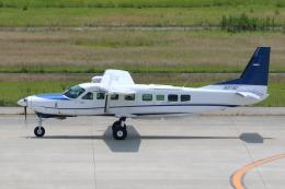 よっしぃさんが、神戸空港で撮影した学校法人ヒラタ学園 航空事業本部 208B Grand Caravanの航空フォト(飛行機 写真・画像)