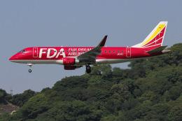 よんろくさんが、福岡空港で撮影したフジドリームエアラインズ ERJ-170-200 (ERJ-175STD)の航空フォト(飛行機 写真・画像)