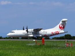 ガスパールさんが、屋久島空港で撮影した日本エアコミューター ATR 42-600の航空フォト(飛行機 写真・画像)