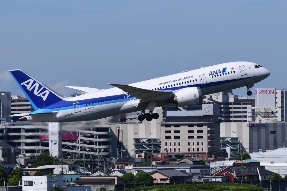 TOPAZ102さんの全日空 Boeing 787-8 Dreamliner (JA832A) 航空フォト