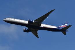 Deepさんが、成田国際空港で撮影したアエロフロート・ロシア航空 777-3M0/ERの航空フォト(飛行機 写真・画像)