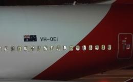 チャレンジャーさんが、羽田空港で撮影したカンタス航空 747-438/ERの航空フォト(飛行機 写真・画像)