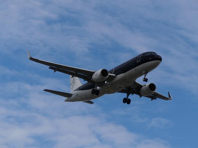 ケイエスワルツオーさんが、福岡空港で撮影したスターフライヤー A320-214の航空フォト(飛行機 写真・画像)