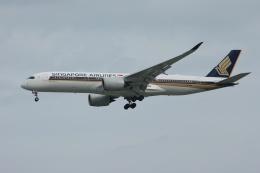 磐城さんが、シンガポール・チャンギ国際空港で撮影したシンガポール航空 A350-941の航空フォト(飛行機 写真・画像)