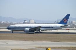 磐城さんが、北京首都国際空港で撮影した中国南方航空 777-21Bの航空フォト(飛行機 写真・画像)