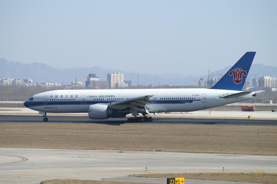 磐城さんの中国南方航空 Boeing 777-200 (B-2054) 航空フォト