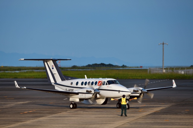 takamaruさんが、静岡空港で撮影したフランス企業所有 200 Super King Airの航空フォト(飛行機 写真・画像)
