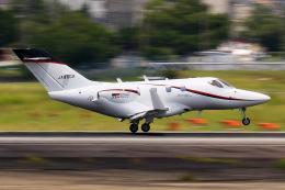 だいふくさんが、名古屋飛行場で撮影した朝日航洋 HA-420の航空フォト(飛行機 写真・画像)