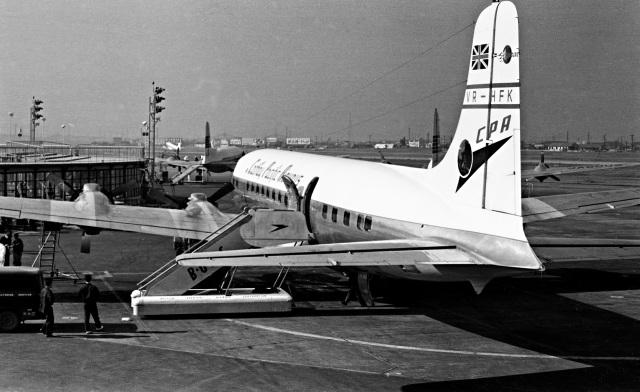 Y.Todaさんが、羽田空港で撮影したキャセイパシフィック航空 DC-6Bの航空フォト(飛行機 写真・画像)
