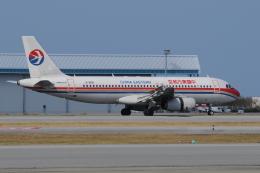 チャーリーマイクさんが、那覇空港で撮影した中国東方航空 A320-232の航空フォト(飛行機 写真・画像)