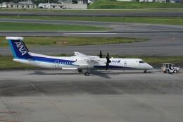 ふうちゃんさんが、伊丹空港で撮影したANAウイングス DHC-8-402Q Dash 8の航空フォト(飛行機 写真・画像)