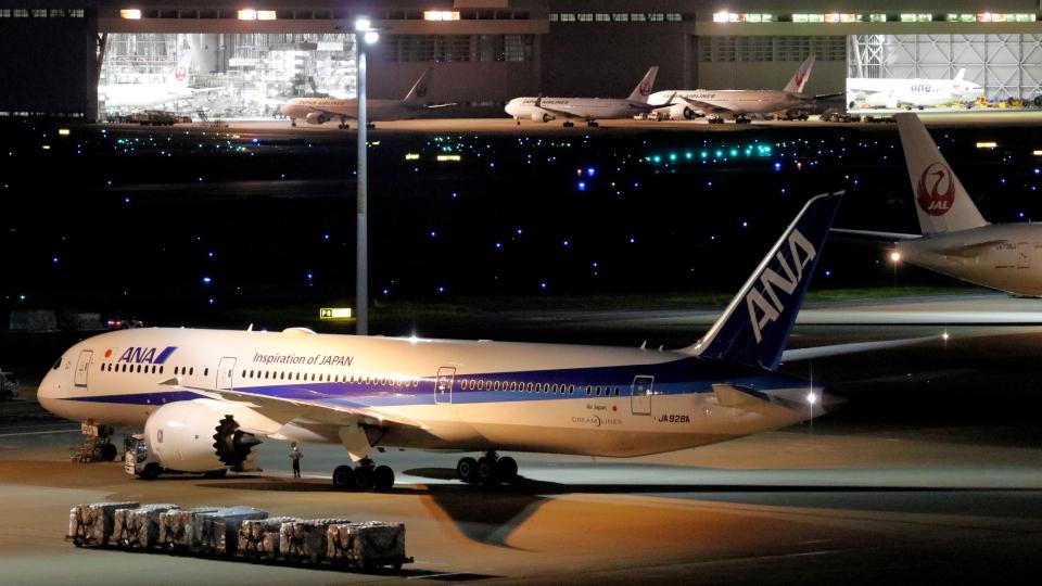 誘喜さんの全日空 Boeing 787-9 (JA928A) 航空フォト