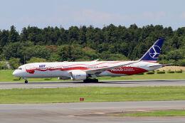 やまモンさんが、成田国際空港で撮影したLOTポーランド航空 787-9の航空フォト(飛行機 写真・画像)