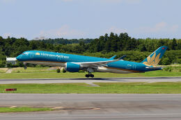 やまモンさんが、成田国際空港で撮影したベトナム航空 A350-941の航空フォト(飛行機 写真・画像)