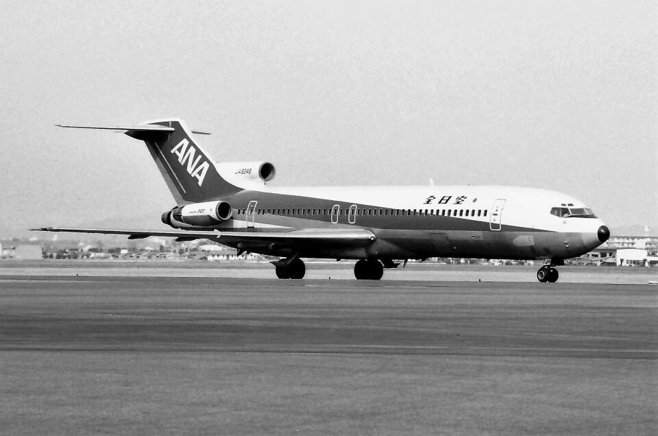 ハミングバードさんの全日空 Boeing 727-200 (JA8349) 航空フォト