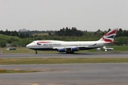 もぐ3さんが、成田国際空港で撮影したブリティッシュ・エアウェイズ 747-436の航空フォト(飛行機 写真・画像)