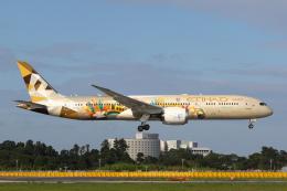 PONαさんが、成田国際空港で撮影したエティハド航空 787-9の航空フォト(飛行機 写真・画像)