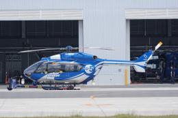 神宮寺ももさんが、奈多ヘリポートで撮影した西日本空輸 BK117C-2の航空フォト(飛行機 写真・画像)