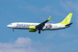みなかもさんが、羽田空港で撮影したソラシド エア 737-86Nの航空フォト(飛行機 写真・画像)