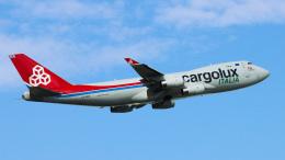 Bluewingさんが、成田国際空港で撮影したカーゴルクス・イタリア 747-4R7Fの航空フォト(飛行機 写真・画像)