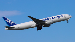Bluewingさんが、成田国際空港で撮影した全日空 777-F81の航空フォト(飛行機 写真・画像)
