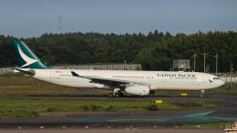 Bluewingさんが、成田国際空港で撮影したキャセイパシフィック航空 A330-343Xの航空フォト(飛行機 写真・画像)