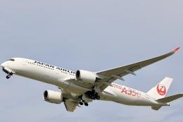 Fly Yokotayaさんが、伊丹空港で撮影した日本航空 A350-941の航空フォト(飛行機 写真・画像)