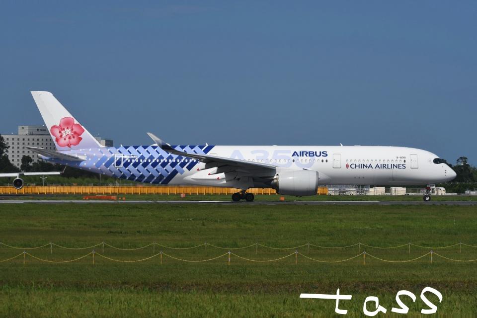 tassさんのチャイナエアライン Airbus A350-900 (B-18918) 航空フォト