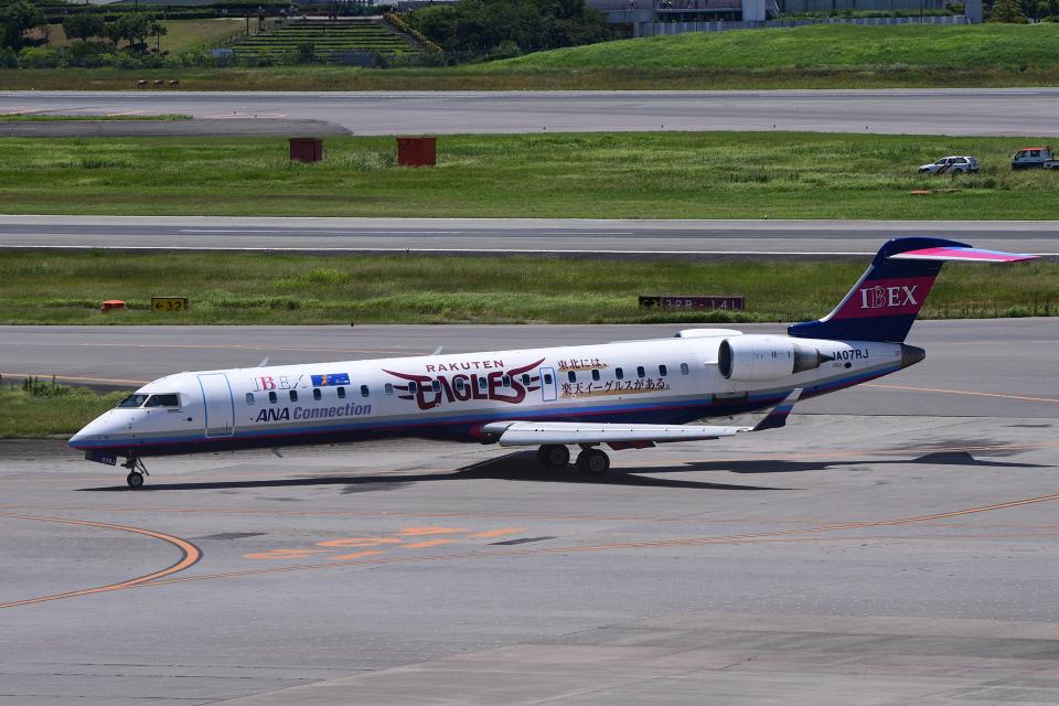 TOPAZ102さんのアイベックスエアラインズ Bombardier CRJ-700 (JA07RJ) 航空フォト
