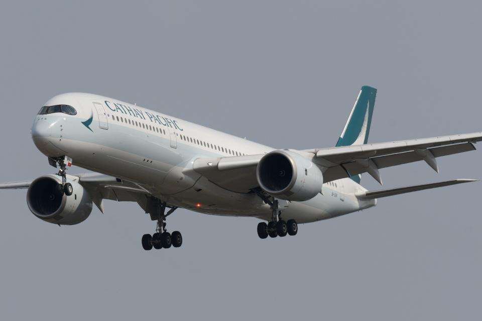 panchiさんのキャセイパシフィック航空 Airbus A350-900 (B-LRV) 航空フォト