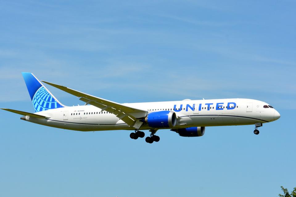 アルビレオさんのユナイテッド航空 Boeing 787-9 (N29985) 航空フォト