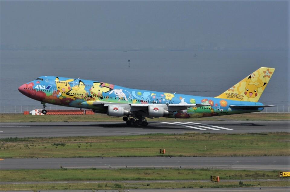 kumagorouさんの全日空 Boeing 747-400 (JA8956) 航空フォト