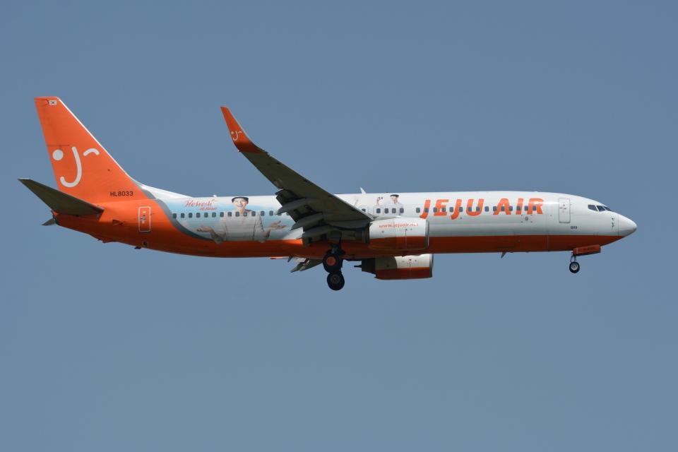 Deepさんのチェジュ航空 Boeing 737-800 (HL8064) 航空フォト