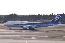 磐城さんが、成田国際空港で撮影した全日空 747-481の航空フォト(飛行機 写真・画像)