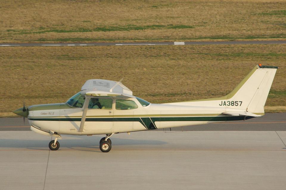SGさんのスカイグローバルネット Cessna 172 (JA3857) 航空フォト