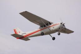 けいとパパさんが、八尾空港で撮影した朝日航空 172S Skyhawk SPの航空フォト(飛行機 写真・画像)