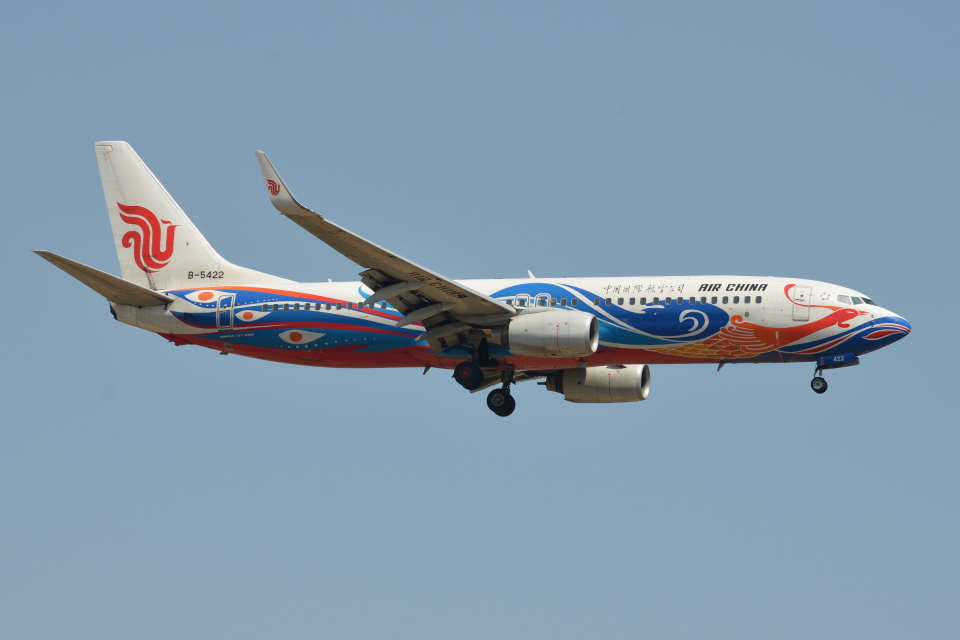 Deepさんの中国国際航空 Boeing 737-800 (B-5422) 航空フォト