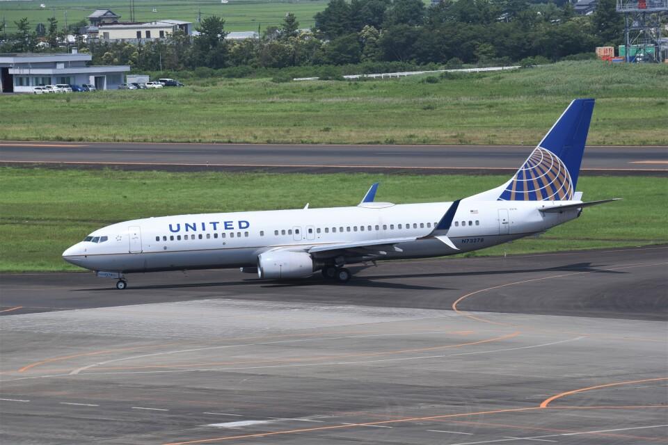 kumagorouさんのユナイテッド航空 Boeing 737-800 (N73278) 航空フォト