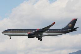 SGさんが、福岡空港で撮影したロイヤル・ヨルダン航空 A340-212の航空フォト(飛行機 写真・画像)
