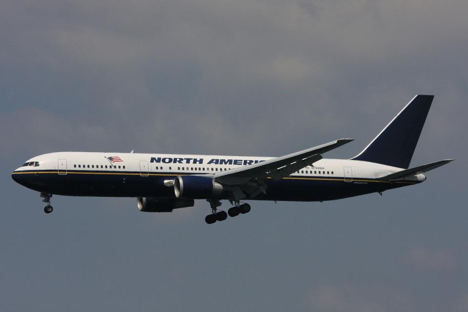 SGさんのノースアメリカン航空 Boeing 767-300 (N768NA) 航空フォト