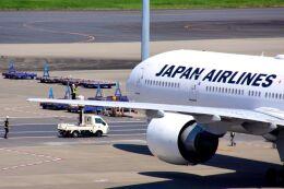 まいけるさんが、羽田空港で撮影した日本航空 777-346/ERの航空フォト(飛行機 写真・画像)