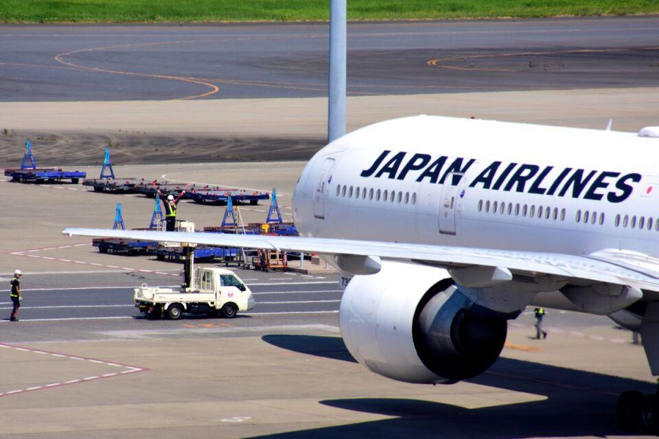 まいけるさんの日本航空 Boeing 777-300 (JA738J) 航空フォト
