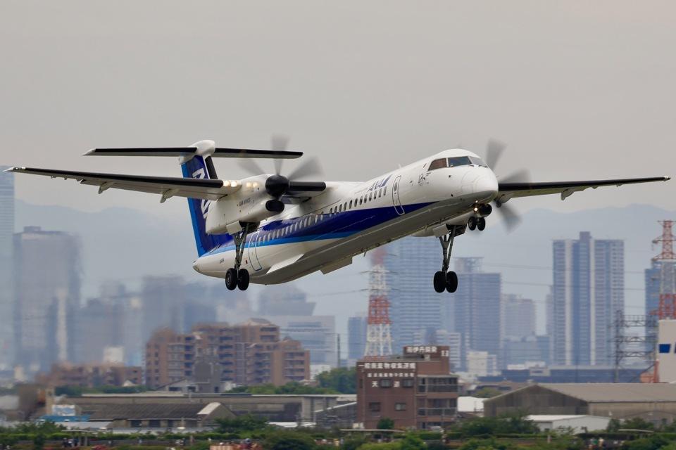 Fly YokotayaさんのANAウイングス Bombardier DHC-8-400 (JA465A) 航空フォト