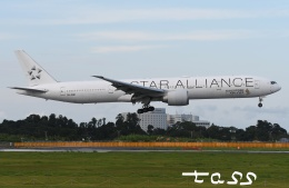 tassさんが、成田国際空港で撮影したシンガポール航空 777-312/ERの航空フォト(飛行機 写真・画像)