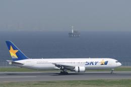 senyoさんが、羽田空港で撮影したスカイマーク 767-38E/ERの航空フォト(飛行機 写真・画像)